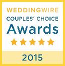 2015 WeddingWire Award