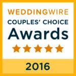 2016 WeddingWire Award
